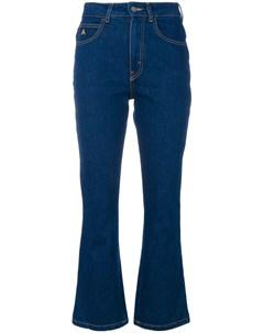 Укороченные брюки клеш Attico
