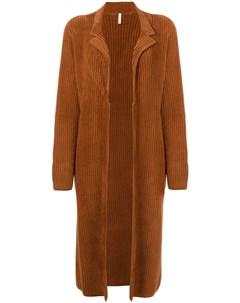 Длинное вельветовое пальто Boboutic