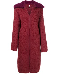 Пальто кардиган с открытыми швами Boboutic