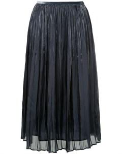 Плиссированная юбка миди Estnation