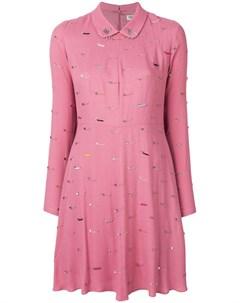 Платье с декоративными булавками Sonia by sonia rykiel