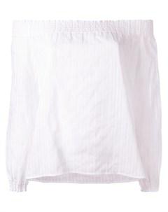 Блузка с открытыми плечами Rag & bone /jean