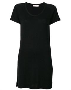 Платье с короткими рукавами реглан Rag & bone /jean