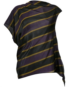 Асимметричная блузка в полоску 08sircus