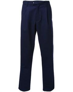 Укороченные брюки со складками Taakk
