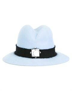 Шляпа федора с поделочным камнем Eshvi