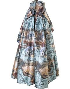Длинное платье с расклешенной юбкой Isabel sanchis