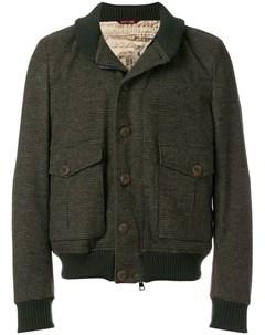 Куртка бомбер с карманами карго Al duca d'aosta 1902