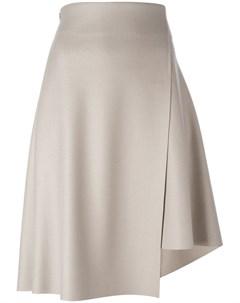 Асимметричная юбка с запахом 08sircus
