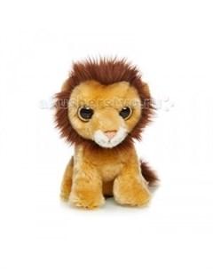 Мягкая игрушка Львенок 18 см Maxilife