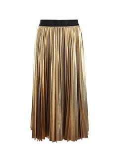 Золотистая юбка миди детская Givenchy