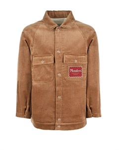 Бежевая куртка из вельвета детская Gucci