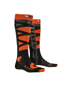 Термоноски мужские X SOCKS Ski Control 4 0 Anthracite Melange X Orange 2021 X-bionic