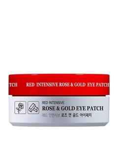 Патчи для век Red Intensive Rose Gold Eye Patch Hanixhani