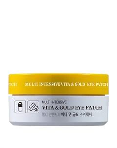 Патчи для век Multi Intensive Vita Gold Eye Patch Hanixhani