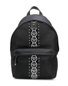 Рюкзак Hexagon с заклепками и логотипом Philipp plein