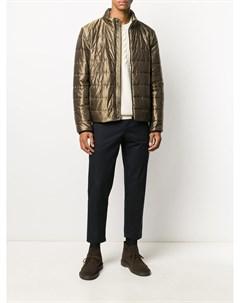 Куртка на молнии с эффектом металлик Fay