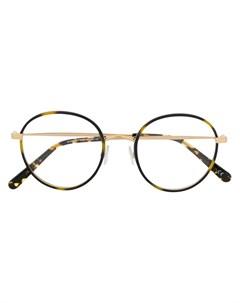 Очки в роговой оправе Stella mccartney eyewear