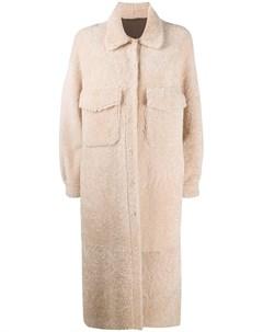 Однобортное пальто Simonetta ravizza