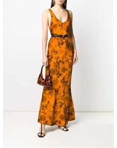 Платье Valetta с цветочным принтом Galvan