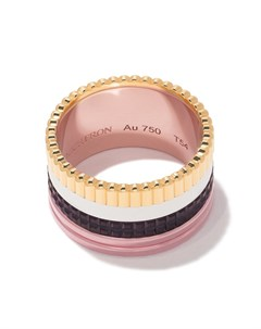 Большое кольцо Quatre Classique из золота трех видов Boucheron