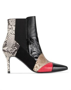 Ботинки Caro 2 с эффектом змеиной кожи Kalda
