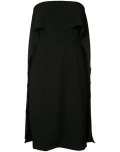 Расклешенное платье без бретелек Trina turk