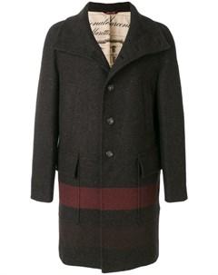 Классическое приталенное пальто Al duca d'aosta 1902