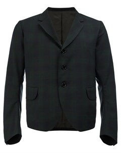 Укороченный пиджак в клетку Christopher nemeth