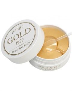 Патчи для глаз Gold EGF Petitfee