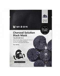 Маска для лица Charcoal Solution Mizon