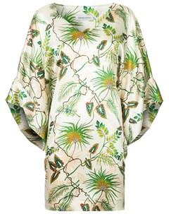 Платье Melrose с тропическим принтом Adriana iglesias