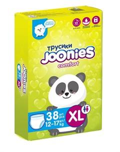 Подгузники трусики Comfort размер XL 12 17кг 38шт Joonies