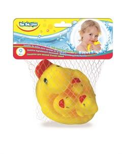 Игрушка для ванной BeBeLino Утиная семья Toyslab