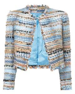 Твидовый укороченный пиджак Isabel sanchis