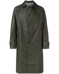 Однобортное пальто Junya watanabe comme des garçons man