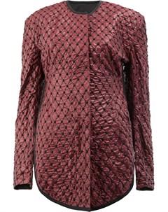 Стеганая приталенная куртка Litkovskaya