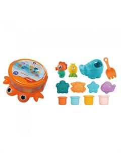 Набор игрушек для ванной Краб 12 шт Haunger