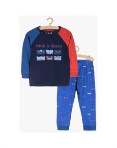 Пижама для мальчиков 1W3902 5.10.15.
