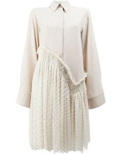 Асимметричное платье рубашка Litkovskaya