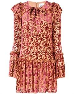 Платье с цветочным принтом Si jay