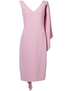 Платье футляр кейп Cushnie et ochs