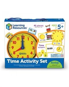 Игровой набор Учимся определять время 41 элемент Learning resources