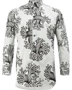 Рубашка с принтом кораллов Christopher nemeth