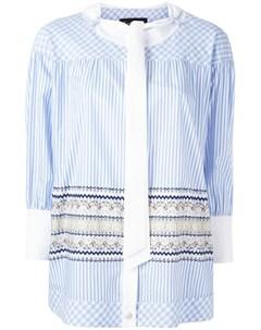 Блузка с контрастной панелью Rossella jardini
