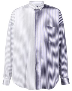 Рубашка в контрастную полоску Juun.j