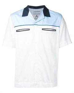 Рубашка с прорезными карманами Andrea pompilio