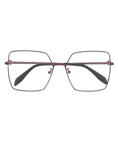 Очки в квадратной оправе Alexander mcqueen eyewear