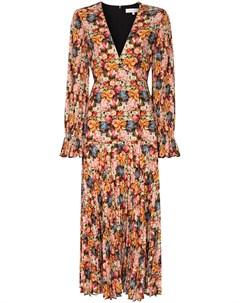 Платье миди Alexis с цветочным принтом Borgo de nor