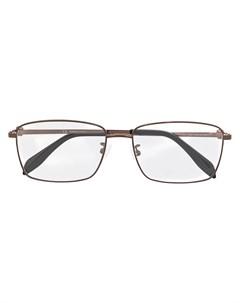 Очки в прямоугольной оправе Alexander mcqueen eyewear